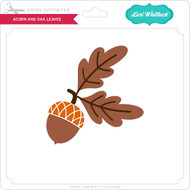 Acorn and Oak Leaves