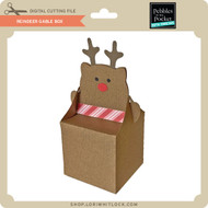 Reindeer Gable Box