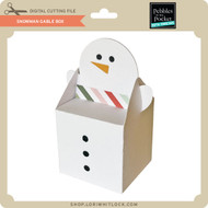 Snowman Gable Box