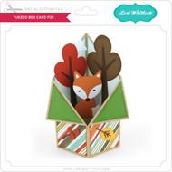 Tuxedo Box Card Fox