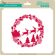 Santa Claus Wreath