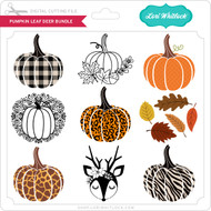 Pumpkin Leaf Deer Bundle