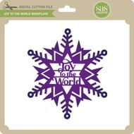 Joy to the World Snowflake
