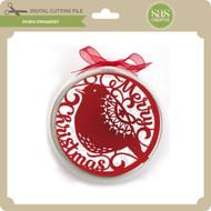 Robin Ornament