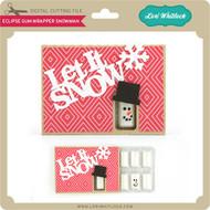 Eclipse® Gum Wrapper Snowman