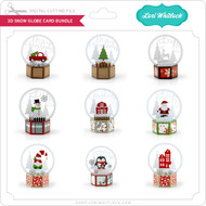 3D Snow Globe Card Bundle