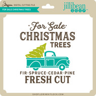 For Sale Christmas Trees