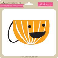 Monsters and Friends - Pumpkin Bucket