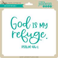 God is My Refuge 2