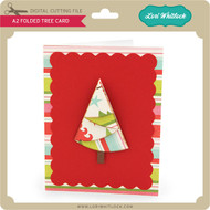 A2 Folded Tree Card