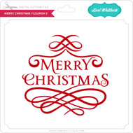 Merry Christmas Flourish 3