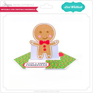 Impossible Card Christmas Gingerbread