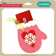 Mitten Gift Card Holder