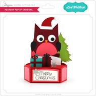 Hexagon Pop Up Card Owl