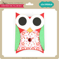 Christmas Owl Pillow Box