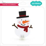 Christmas Tag Snowman 3