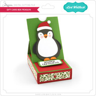 Gift Card Box Penguin