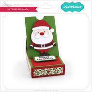 Gift Card Box Santa