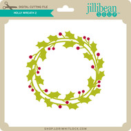 Holly Wreath 5