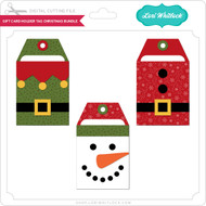 Gift Card Holder Tag Christmas Bundle
