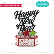 Hexagon Pop Up Card New Year 2
