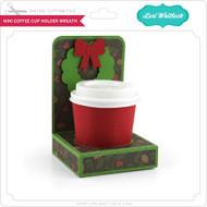 Mini Coffee Cup Holder Wreath
