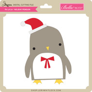 Fa La La - Holiday Penguin