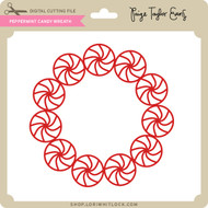 Peppermint Candy Wreath