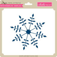 Winter Wonderland - Snowflake 1