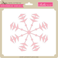 Winter Wonderland - Snowflake 2