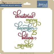 Christmas Believe Miracle