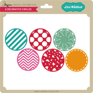 6 Decorative Circles