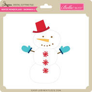 Winter Wonderland - Snowman A