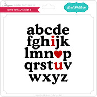 I Love You Alphabet 2