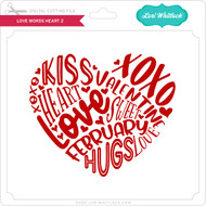 Love Words Heart 2