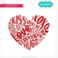 Love Words Heart 2