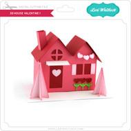 3D House Valentine 1