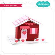 3D House Valentine 2