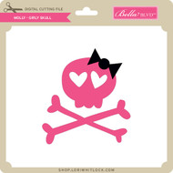 Molly - Girly Skull