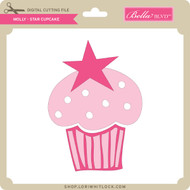 Molly - Star Cupcake