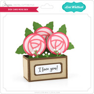 Box Card Rose Box