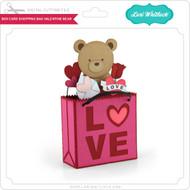 Box Card Shopping Bag Valentine Bear