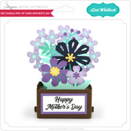 Rectangle Pop Up Card Mother's Day