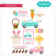 Easter Stickers 2