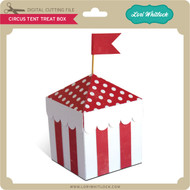 Circus Tent Treat Box
