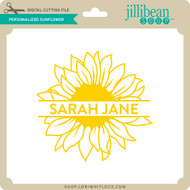 Personalized Sunflower