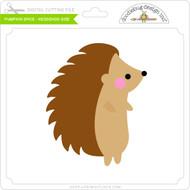 Pumpkin Spice - Hedgehog Side