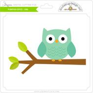 Pumpkin Spice - Owl