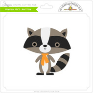Pumpkin Spice - Raccoon