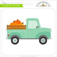 Pumpkin Spice - Side Truck